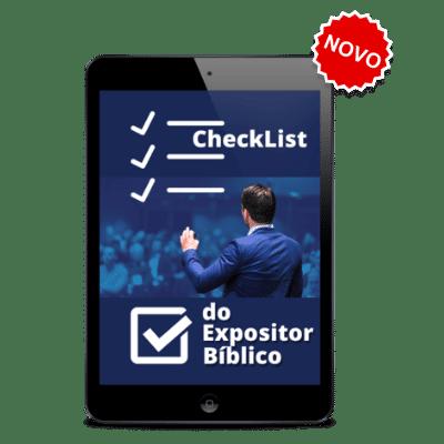 tablet checkist-curso pregação