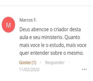 Depoimanto Marcos