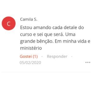 Depoimento Camila