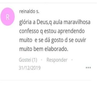 Depoimento Reinaldo